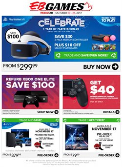 EB Games deals in the Richmond Hill flyer