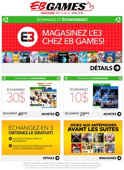 Electronics & Appliances offers in the EB Games catalogue in Salaberry-de-Valleyfield