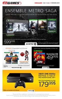 Electronics & Appliances offers in the EB Games catalogue in Kanata