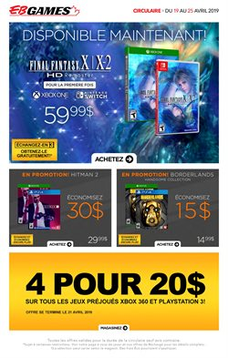Electronics & Appliances offers in the EB Games catalogue in Victoriaville