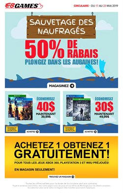 EB Games deals in the Salaberry-de-Valleyfield flyer