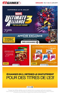 Electronics offers in the EB Games catalogue in Montreal