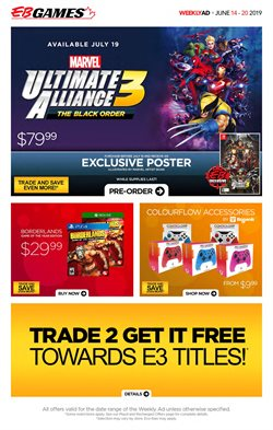 Electronics offers in the EB Games catalogue in Regina