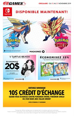 EB Games deals in the Saint-Hyacinthe flyer