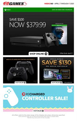 Electronics offers in the EB Games catalogue in Toronto ( 3 days left )