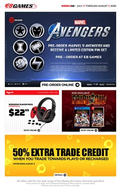 EB Games catalogue ( Expires today )