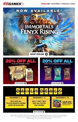 EB Games catalogue ( 1 day ago )