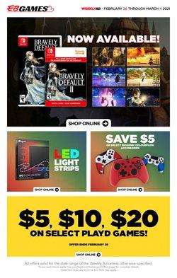 EB Games catalogue ( 3 days left )