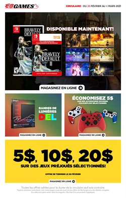 EB Games catalogue ( 3 days left )
