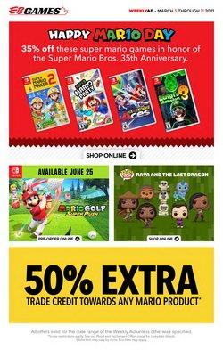 EB Games catalogue ( 2 days ago )