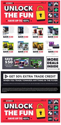 EB Games catalogue ( Published today )
