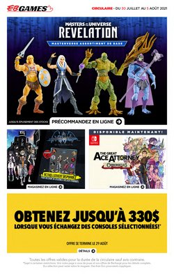 Electronics deals in the EB Games catalogue ( 2 days left)