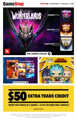 Electronics deals in the EB Games catalogue ( 4 days left)