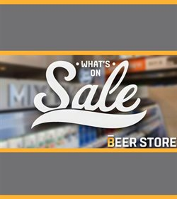 The Beer Store deals in the Toronto flyer