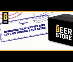 Restaurants offers in the The Beer Store catalogue in Toronto ( 20 days left )