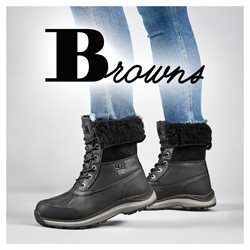Browns catalogue ( More than a month )