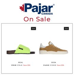 Pajar deals in the Pajar catalogue ( More than a month)