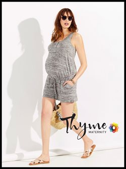 Thyme Maternity deals in the Toronto flyer