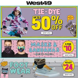West 49 catalogue ( Expired )