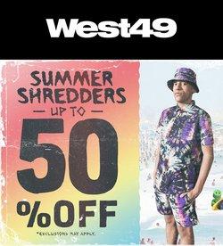 West 49 catalogue ( 3 days left )