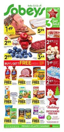 Sobeys deals in the Toronto flyer