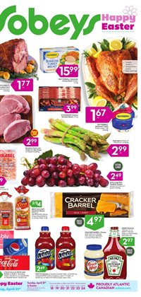 Sobeys deals in the Bolton flyer