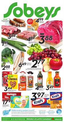 Sobeys deals in the Gatineau flyer