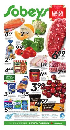 Grocery offers in the Sobeys catalogue in Toronto