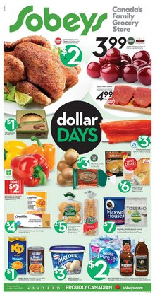 Grocery offers in the Sobeys catalogue in Edmonton ( 1 day ago )