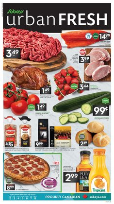 Grocery offers in the Sobeys catalogue in Hamilton ( Expires tomorrow )