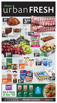 Sobeys catalogue ( Published today)
