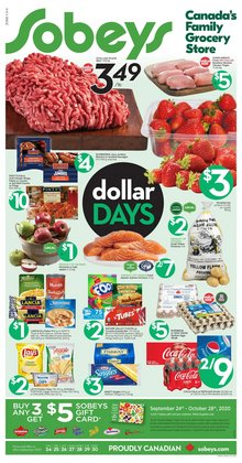 Sobeys catalogue ( 1 day ago )