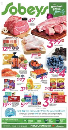Sobeys catalogue ( Expires tomorrow )