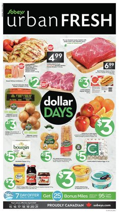 Sobeys catalogue ( Published today )