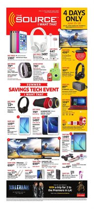 The Source deals in the Toronto flyer