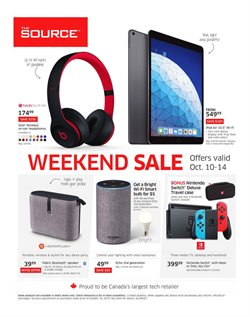 The Source deals in the Montreal flyer
