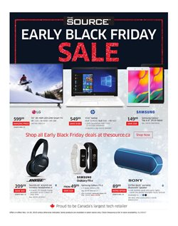 Electronics offers in the The Source catalogue in Saint-Hyacinthe