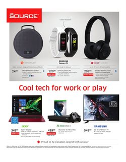Electronics offers in the The Source catalogue in Saint John