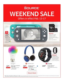 Electronics offers in the The Source catalogue in St. Catharines ( 4 days left )
