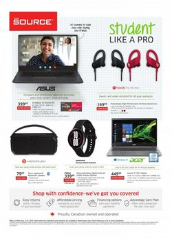 Back to School deals in the The Source catalogue ( 7 days left)
