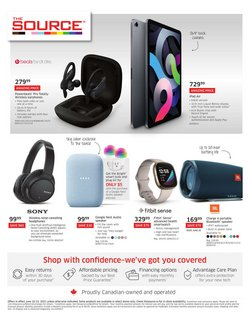 Electronics deals in the The Source catalogue ( 4 days left)