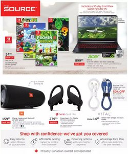 Electronics deals in the The Source catalogue ( 1 day ago)