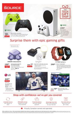 Electronics deals in the The Source catalogue ( Published today)