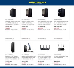 Electronics & Appliances offers in the Canada Computers catalogue in London