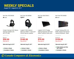 Canada Computers deals in the Toronto flyer
