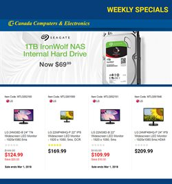 Canada Computers deals in the Calgary flyer
