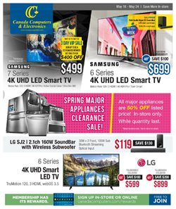 Electronics & Appliances offers in the Canada Computers catalogue in Kingston