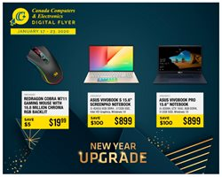 Canada Computers deals in the Montreal flyer