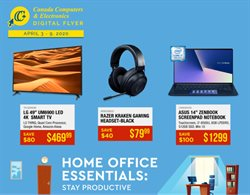 Electronics offers in the Canada Computers catalogue in Toronto ( 3 days left )