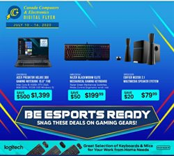 Electronics offers in the Canada Computers catalogue in Montreal ( Expires tomorrow )